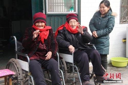 Cặp vợ chồng sống thọ nhất TQ: 108 và 109 tuổi-2