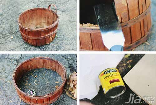 Biến thùng gỗ bỏ đi thành giá đựng đồ đẹp mê ly - 2