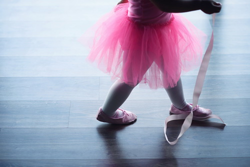 """hh huong giang khoe con gai """"tro tai"""" mua ballet - 11"""