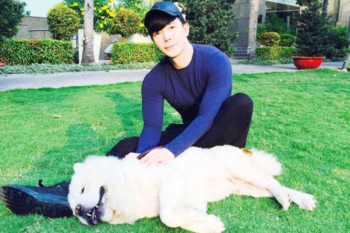 Nathan Lee tiết lộ tình yêu dành cho cún cưng-10