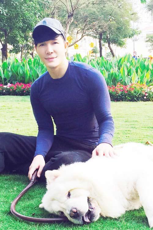 Nathan Lee tiết lộ tình yêu dành cho cún cưng-2