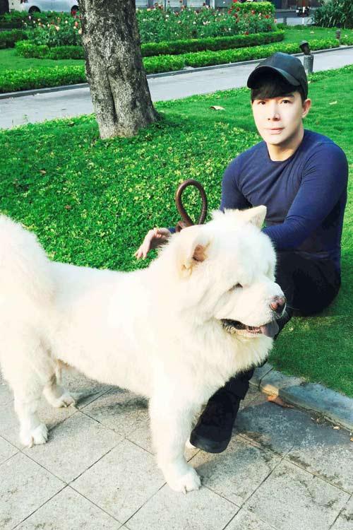 Nathan Lee tiết lộ tình yêu dành cho cún cưng-3