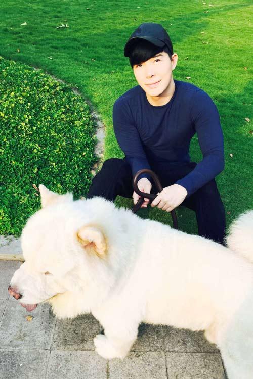 Nathan Lee tiết lộ tình yêu dành cho cún cưng-4