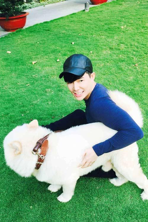 Nathan Lee tiết lộ tình yêu dành cho cún cưng-5