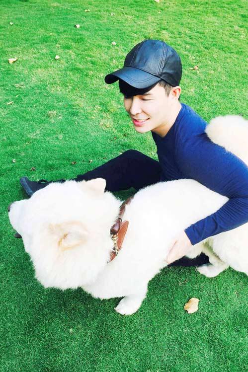 Nathan Lee tiết lộ tình yêu dành cho cún cưng-6