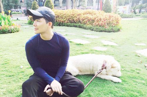 Nathan Lee tiết lộ tình yêu dành cho cún cưng-7