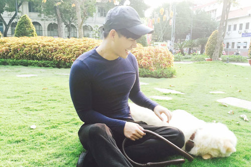 Nathan Lee tiết lộ tình yêu dành cho cún cưng-8