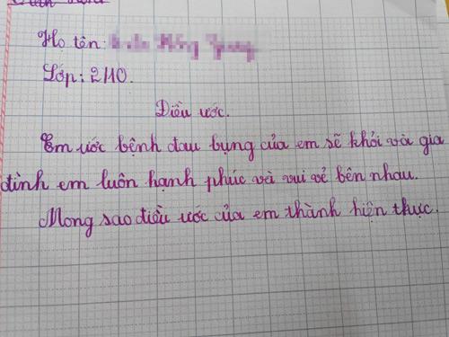 dieu uoc 'ba me khong chui nhau' cua hoc sinh lop 2 - 4