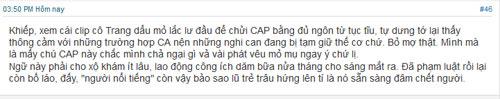 xuat hien clip trang tran chui bay tai don cong an - 3