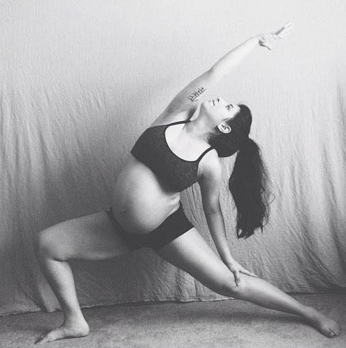 """thot tim"" xem me bau 37 tuan tap yoga - 3"