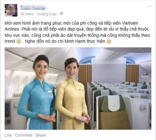 dong phuc moi cua tiep vien vietnam airlines bi che xau - 8