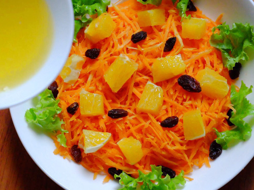 salad ca rot, cam cho nang dep da, dep dang - 5