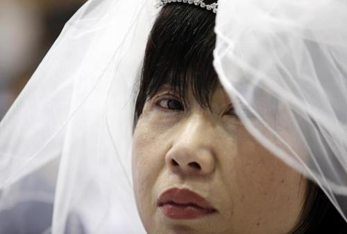 3.800 cặp đôi trên thế giới đổ về Hàn Quốc cưới tập thể-11