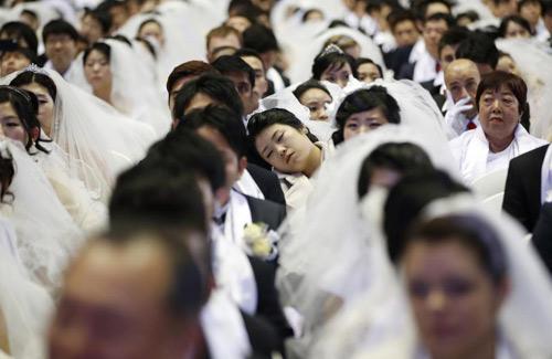 3.800 cặp đôi trên thế giới đổ về Hàn Quốc cưới tập thể-4
