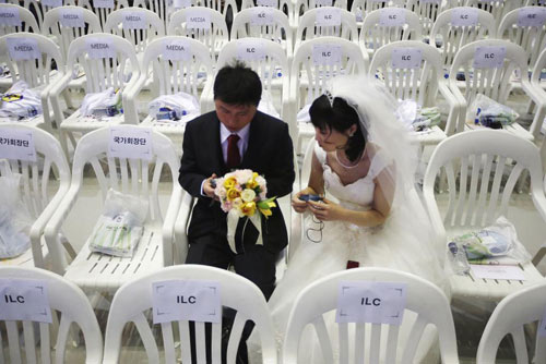 3.800 cặp đôi trên thế giới đổ về Hàn Quốc cưới tập thể-9