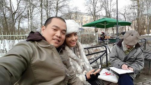 """Vợ chồng Thúy Hạnh vui vẻ """"du hí"""" nước Nga - 1"""