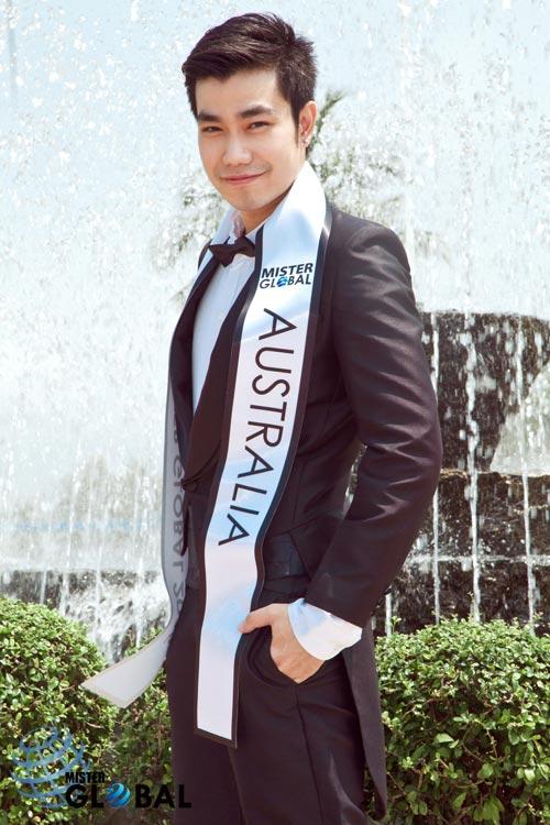 Thí sinh VN diện trang phục bộ đội ở Mister Global 2015 - 16