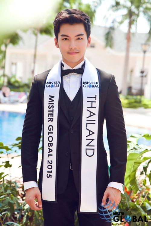 Thí sinh VN diện trang phục bộ đội ở Mister Global 2015 - 15