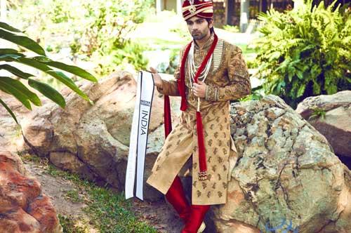 Thí sinh VN diện trang phục bộ đội ở Mister Global 2015 - 9