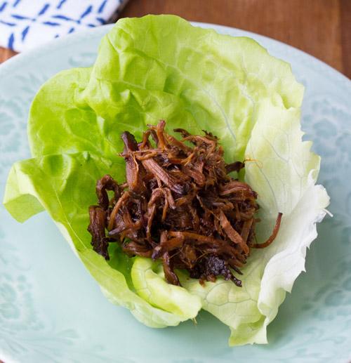 Xà lách cuộn thịt bò kiểu Hàn ngon mê-2