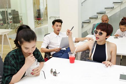 dan thi sinh lan dau hoa giong trong liveshow 5 cua the remix - 7