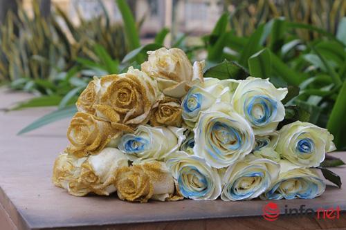 Hoa hồng phủ sôcôla – món quà độc đáo cho ngày 8/3-4