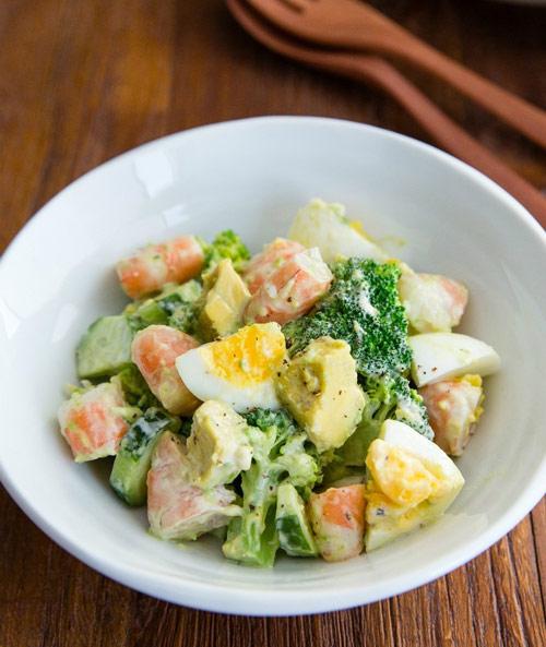 salad tom de lam cho cuoi tuan - 11
