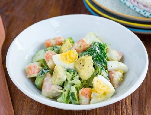 salad tom de lam cho cuoi tuan - 13