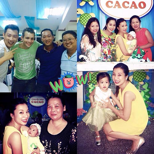 oc thanh van lam tiec gian di mung day thang be cacao - 5