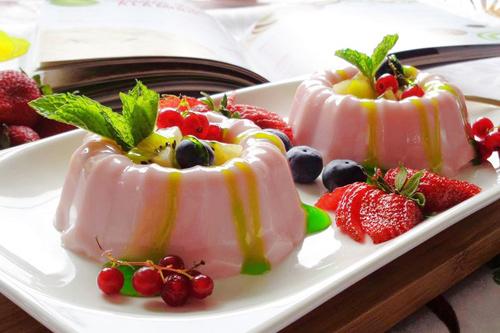 pudding sua dau mon ngon cho be - 6