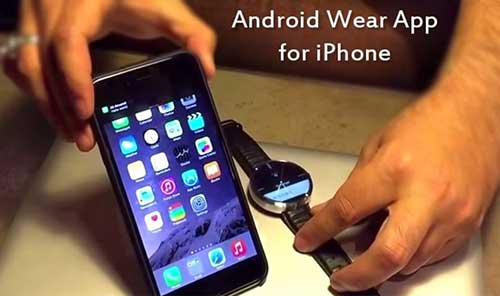 smartwatch chay android wear se ho tro ca iphone/ipad - 1