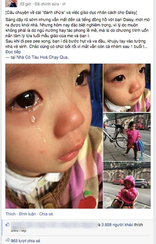 "mc minh trang ban chuyen ""danh chua"" va day con nhan cach - 2"