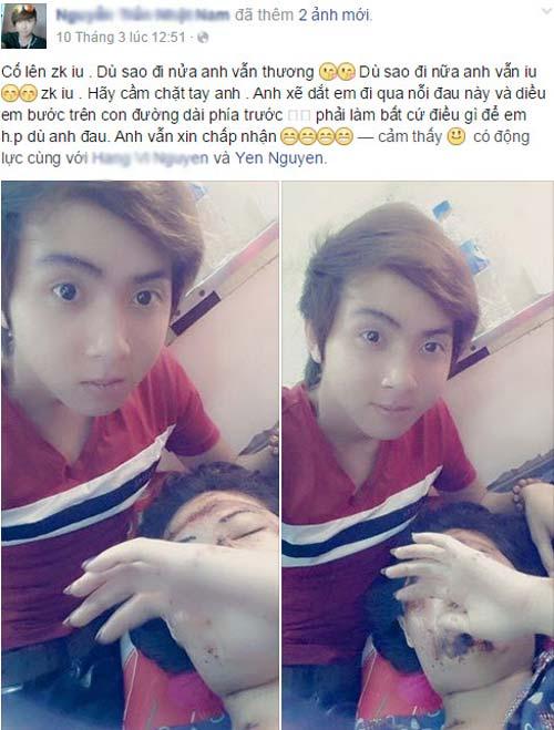 """chuyen tinh chang trai va co gai mat bi huy hoai gay """"bao"""" - 3"""