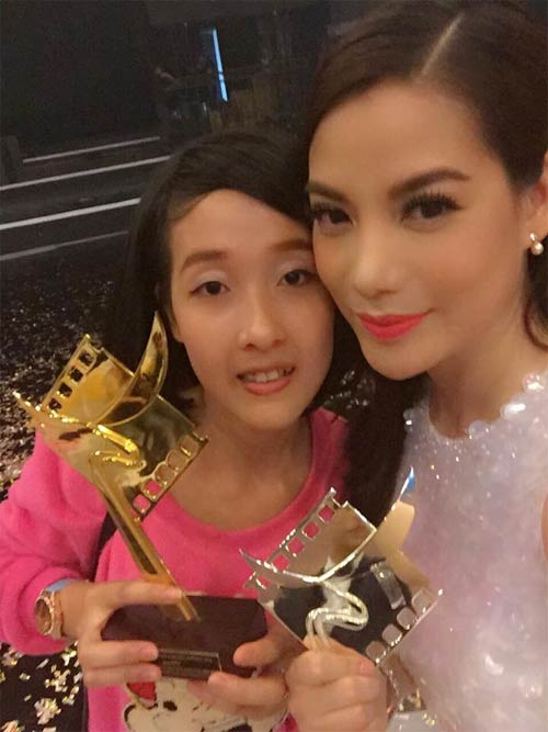 tra my idol khoe anh chup cung con trai - 4