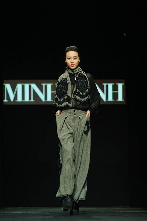 "minh hanh ""xuat chieu"" tai tuan thoi trang thu dong 2015 - 15"