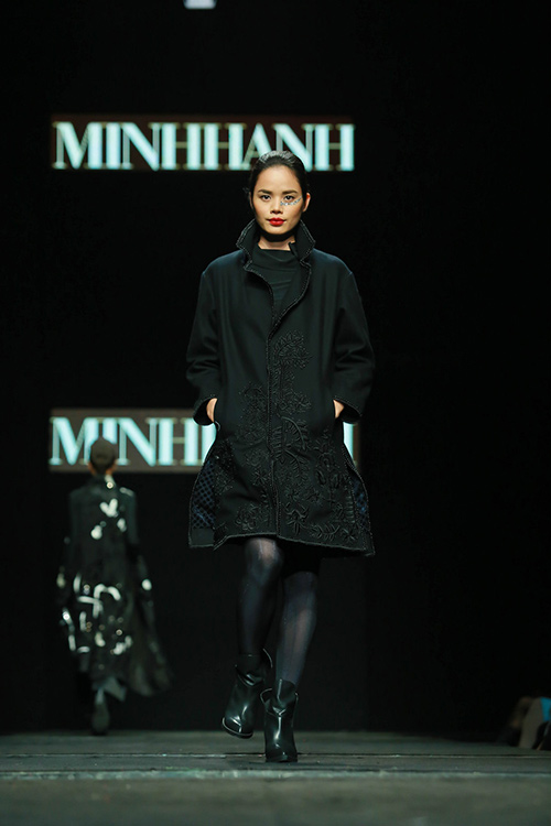 "minh hanh ""xuat chieu"" tai tuan thoi trang thu dong 2015 - 6"