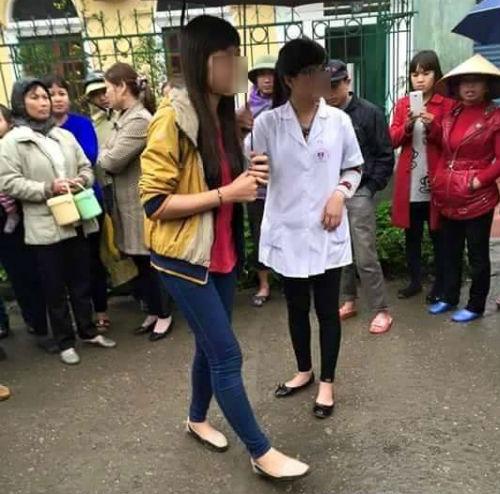 ban an nao cho nu sinh truong y vut con ra vuon? - 1