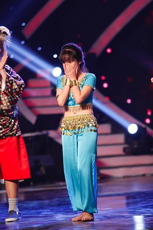 """tieu uyen linh"" vao thang chung ket got talent - 3"