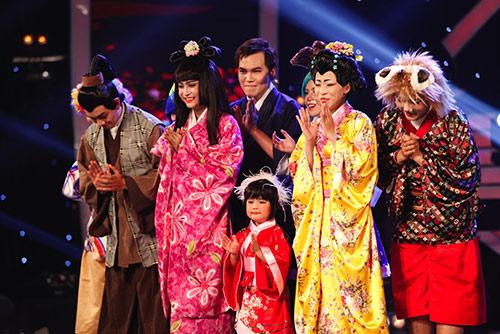 """tieu uyen linh"" vao thang chung ket got talent - 5"