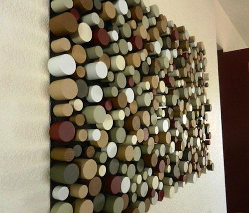 Tô điểm nhà xinh bằng tường 3D đẹp mà đơn giản-17