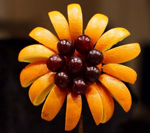 tia hoa huong duong tu hoa qua cho be - 7