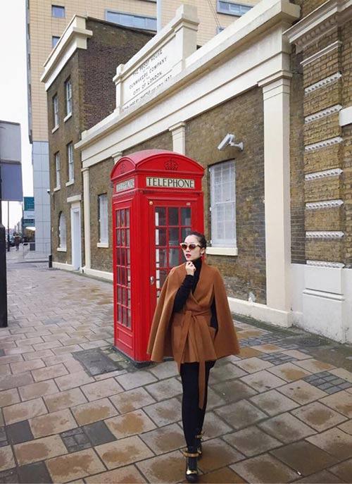 linh nga sanh dieu dua con gai di du lich london - 5