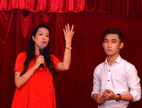 "trinh kim chi mang bau 6 thang van ""cham cay"" - 6"