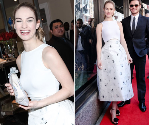 "video: ""co be lo lem"" lily james chon giay di tiec - 6"