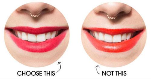 Chọn son môi sao cho hàm răng không bị ố vàng - 2