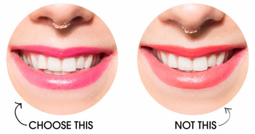 Chọn son môi sao cho hàm răng không bị ố vàng - 3