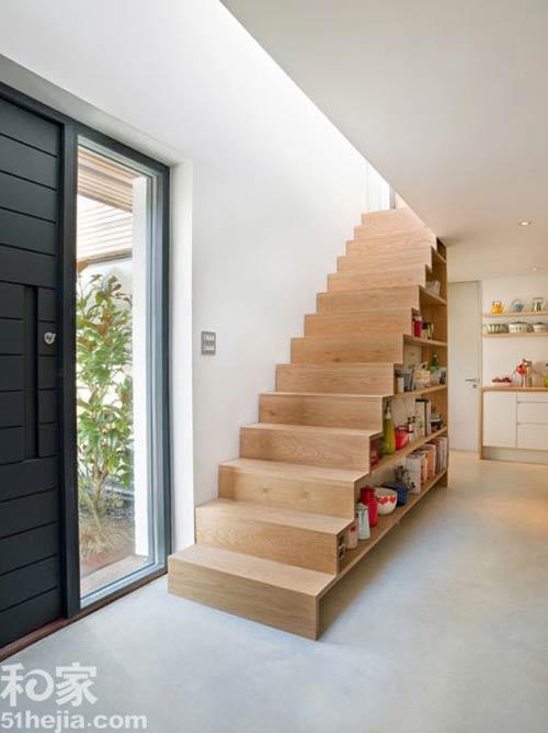 Muôn cách tận dụng gầm cầu thang chứa đồ cho nhà nhỏ - 4