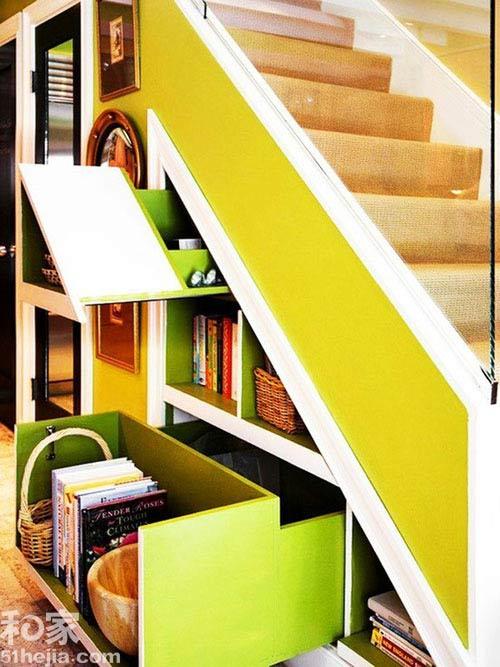 Muôn cách tận dụng gầm cầu thang chứa đồ cho nhà nhỏ - 5
