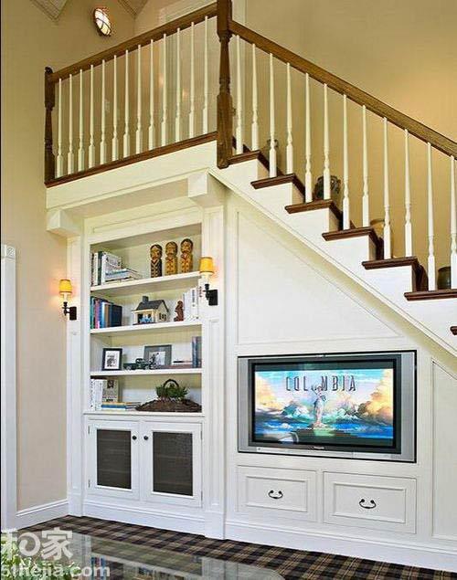 Muôn cách tận dụng gầm cầu thang chứa đồ cho nhà nhỏ - 6