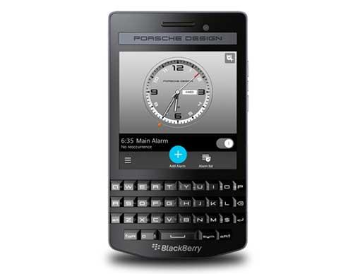 blackberry ra smartphone sieu sang porsche design p'9983 graphite - 1